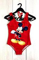 Сдельный купальник мульт-персонаж Микки,женские купальники-боди.