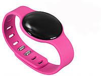 Многофункциональный фитнес-браслет  Розовый