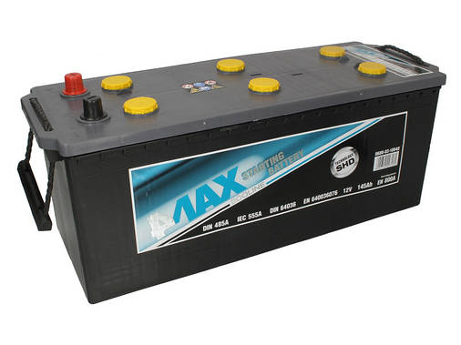 Аккумулятор 4Max Bateries 145Ah/800A L+(3) 513x189x223 B00 Ecoline (140), фото 2