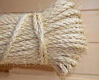 Канат сизалевый 6 мм х 50 метров - веревка сизалевая