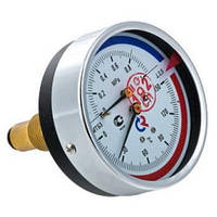 Термоманометр осьовий МТ-80-ТМ-О 16/150оС