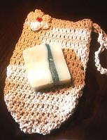 Мочалка для тела  КЕСЕ  легкий пиллинг, массаж и очищение