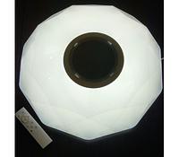 Led люстра на пульте с колонкой 24W 415мм*415мм 3000k/4500k/6500k/RGB/ Bluetooth Musik Player, фото 1