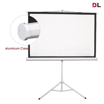 ESDC100 (4:3) Екран на тринозі 200*150, фото 2