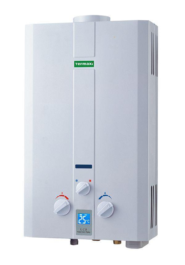 Газова колонка TERMAXI JSD-20W біла на 10 л/хв