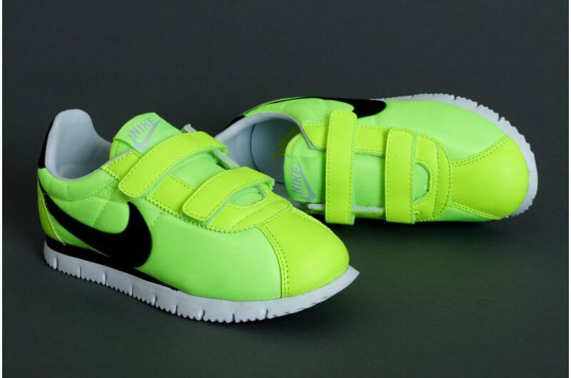 Детские кроссовки Nike Cortez Nylon Yellow