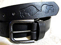 Шкіряний ремінь Бізон, фото 1