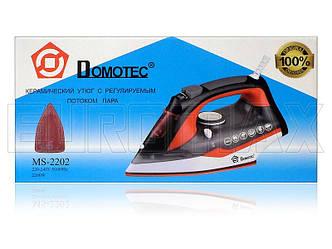 Утюг с керамической подошвой 2200Вт Domotec MS-2202