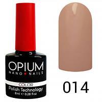 Opium 014 Гель лак 8 ml