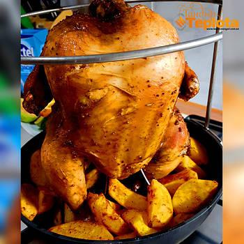 Курица в тандыре