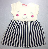 Платье детское интерлок 3-7 лет