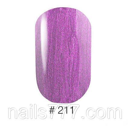 Гель-лак G.La color 211 полупрозрачный фиолетовый с перламуром, фото 2