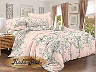 """Семейный комплект постельного белья из сатина """"Розовая мечта"""". Два пододеяльника."""