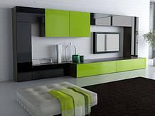 Стенка в гостиную на заказ в Киеве, мебель в гостиную под заказ, цена, фото, дизайн