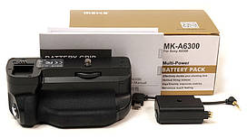 Батарейный блок (бустер) Meike - MK-A6300 для SONY A6000, A6300