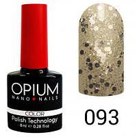 Opium 093 Гель лак 8 ml