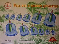 Банки вакуумные массажные - 12 шт, фото 1