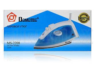 Утюг с тефлоновой подошвой 2200Вт Domotec MS-2208
