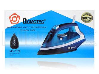 Утюг с керамической подошвой 2200Вт Domotec MS-2228