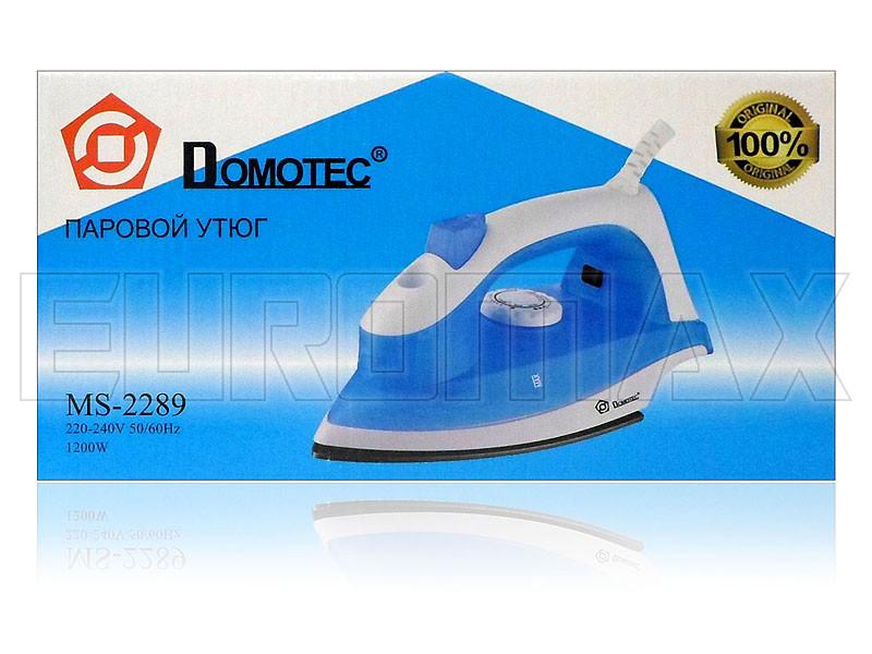 Утюг с тефлоновой подошвой 2200Вт Domotec MS-2289