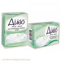 Диво туалетное натуральное косметическое крем-мыло  для жирной кожи 90г