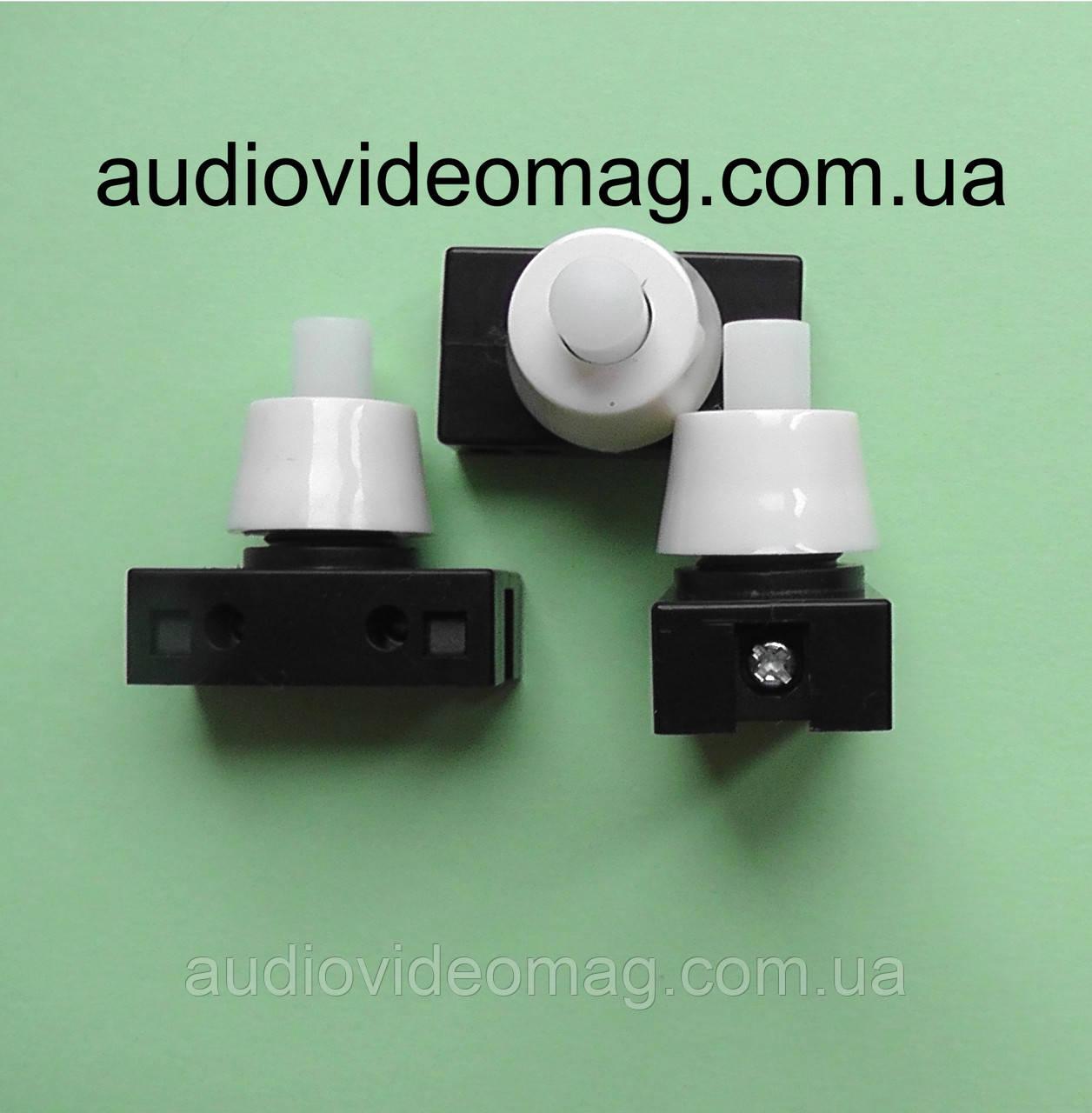 Кнопка с фиксацией для торшеров, бра, светильников