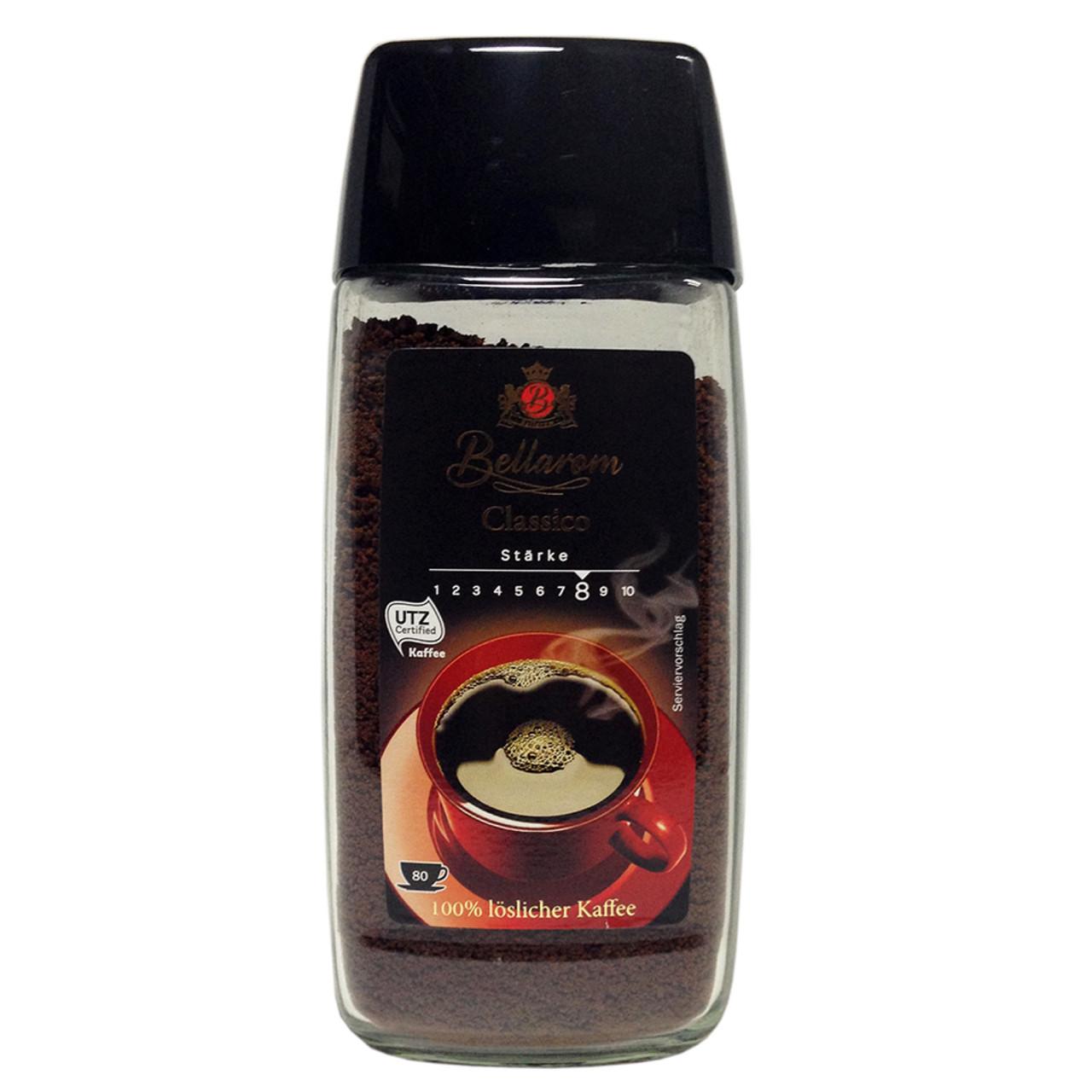Растворимый кофе «Bellarom Classico STARKE» 100 % арабика (мелкие гранулы) 200 g. Германия