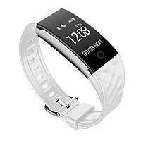 Фитнес-браслет SUNROZ S2 Bluetooth Smart фитнес-браслет, 0.96 дюйма, IP67 Белый (SUN0183)