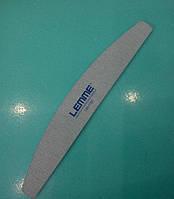 Пилка для ногтей LEMME  180/180, полукруг