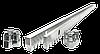 Зубчаста Рейка RACK-8 L=1 метр (DOORHAN)