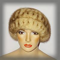 Меховая женская шапка из норки, фото 1