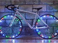 Светодиодная подсветка для велосипеда на спицы, 20 светодиодов  Мультицвет