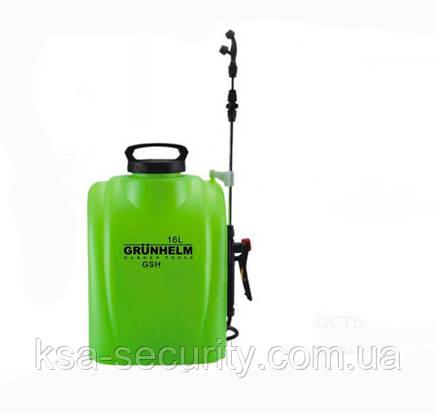 Акумуляторний обприскувач Grunhelm GHS-16, фото 2