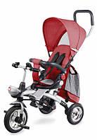 Велосипед-візочок трьохколісний  Lionelo TIM PLUS Red