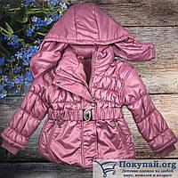 Куртки для девочек Весна Осень Размеры: 3,4,5,6 лет (6201-1)