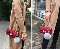 Женская красная сумочка ХИТ 2018