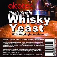 Alcotec Дрожжи спиртовые Single Strain Whisky с ферментами