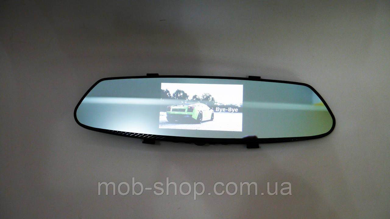 Автомобильный видеорегистратор DVR T100 Full HD сенсорный экран + камера заднего вида