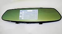 Автомобильный видеорегистратор DVR T100 Full HD сенсорный экран + камера заднего вида, фото 4