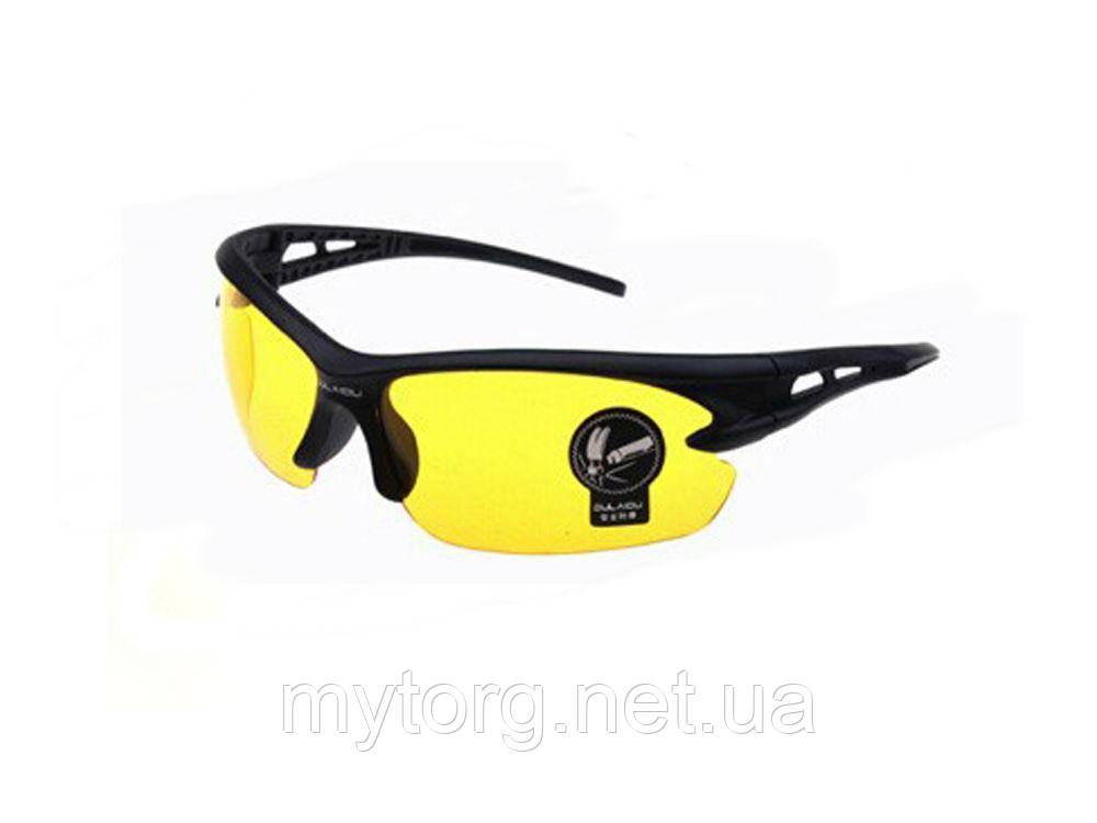 Очки для занятий спортом, велосипедные очки  Желтый