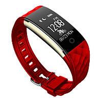 Фитнес-браслет SUNROZ S2 Bluetooth Smart фитнес-браслет, 0.96 дюйма, IP67 Красный (SUN0184)