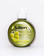 """Крем для рук """"Lilien"""" с оливковым маслом300 ml."""