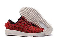 Детские кроссовки Adidas Yeezy Boost 350 Red White Kids, фото 1