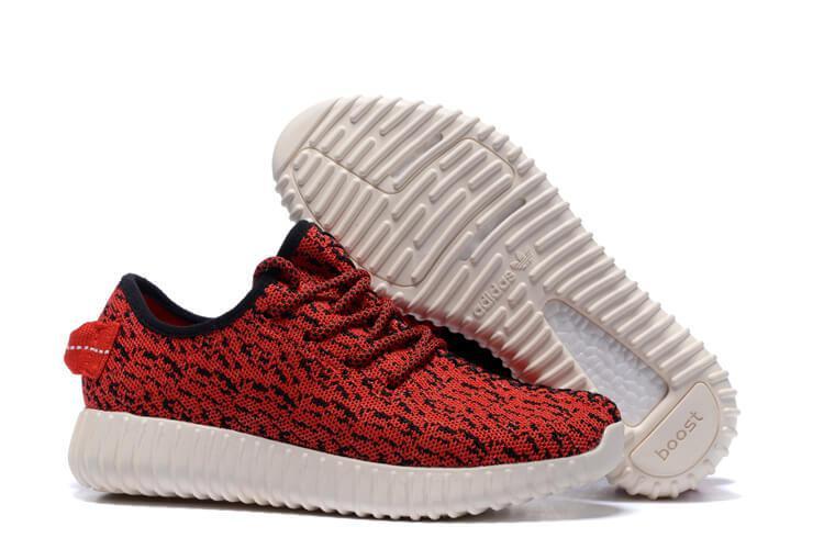 0a8fe9e0e80c Детские кроссовки Adidas Yeezy Boost 350 Red White Kids - Интернет магазин  обуви «im-