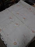 Скатерть лен, ажур,нарядная, фото 4