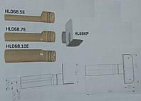 HL68P.0 Парапетная воронка с фланцем из ПВХ и отводящей трубой из ПП, фото 1