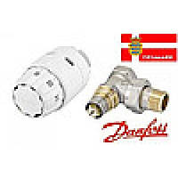 Термостатическая головка DANFOSS 013G2219 RAS-C2 + клапан RA-FN 1/2 угловой