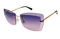 Очки Chanel серо-розовые