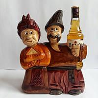 """Подставка под бутылку ручной роботы """"Парочка """", фото 1"""
