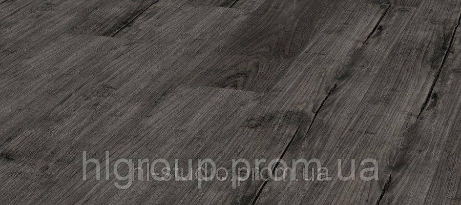 Ламинат Kronotex Exquisit Тик Ностальгия Графит Тёмно-серый D4171 1380х193х8 (класс 32)